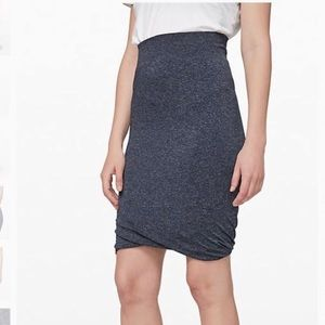 lululemon boulevard bliss skirt size 6